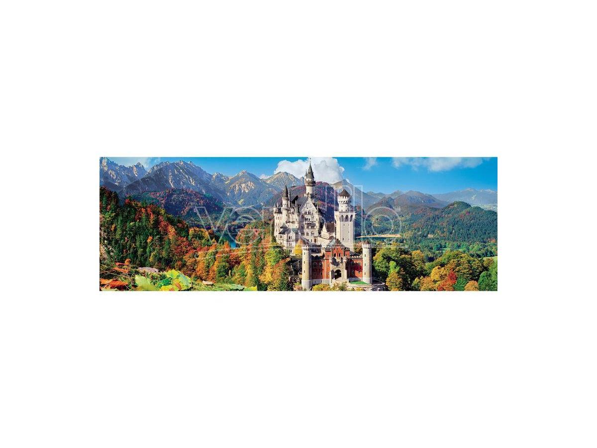 Neuschwanstein Panorama puzzle 1000pcs Clementoni