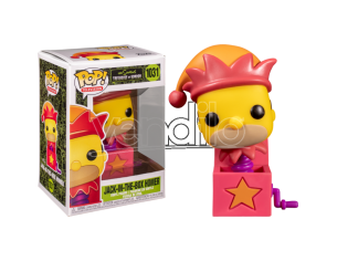 The Simpsons Funko POP Animazione Vinile Figura Jack in the Box Homer 9 cm