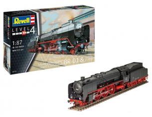 REVELL RV02172 EXPRESS LOCOMOTIVE BR01 & TENDER 1:87 Modellino
