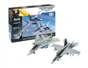 Revell Rv05677 Regalo Set Top Gun Movie Kit 1:72 Modellino