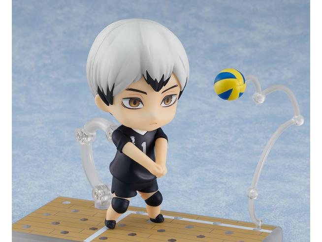 HAIKYU SHINSUKE KITA NENDOROID MINI FIGURA ORANGE ROUGE