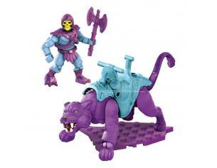 Masters of the Universe Set Costruzione Skeletor & Panthor 29 pezzi Mattel
