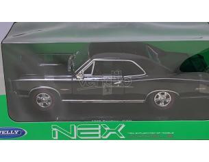 Welly WE9856 PONTIAC GTO 1966 METALLIC BLACK 1:18 Modellino