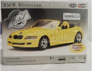Bburago BMW ROADSTER GIALLA KIT 1:43 Modellino