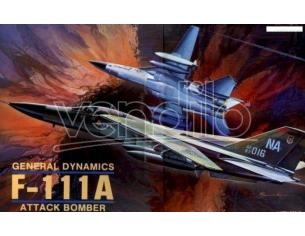 ACADEMY 1647 GENERAL DYNAMICS F-111A ATTAK BOMBER 1:48 Kit Modellino