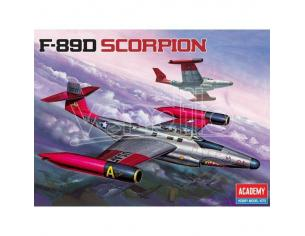 ACADEMY 12403 F-89D SCORPION 1:72 Kit Modellino