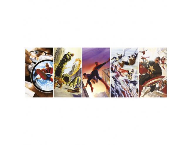 Marvel 80 Panorama puzzle 1000pcs Clementoni