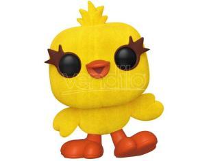 Pop Figura Disney Toy Story 4 Ducky Flocked Esclusiva Funko