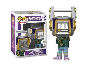 Pop Figura Fortnite Dj Yonder Funko
