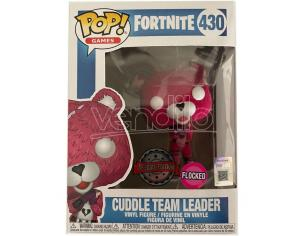 Pop Figura Fortnite Cuddle Team Leader Flocked Esclusiva Funko