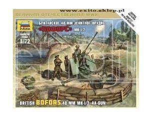 Zvezda Z6170 BRITISH BOFORS 40 mm  KIT 1:72 Modellino