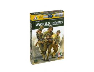 Italeri IT15603 WWII US INFANTRY KIT 1:72 Modellino