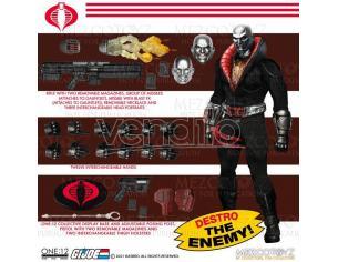 One 12 Coll Gi Joe Destro Action Figura Mezco Toys