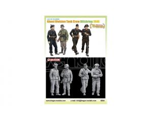 DRAGON D6654 GHOST DIVISION TANK CREW KIT 1:35 Modellino