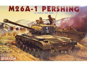 DRAGON D6801 M26A-1 PERSHING KIT 1:35 Modellino