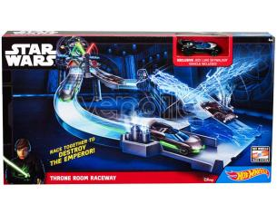 HOT WHEELS: STAR WARS PISTA SALA TRONO WHEELS - MODELLINI E VEICOLI