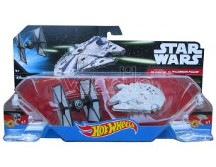 HOT WHEELS:STAR WARS T.FIGHTER VS M.FALC WHEELS STAR - MODELLINI E VEICOLI
