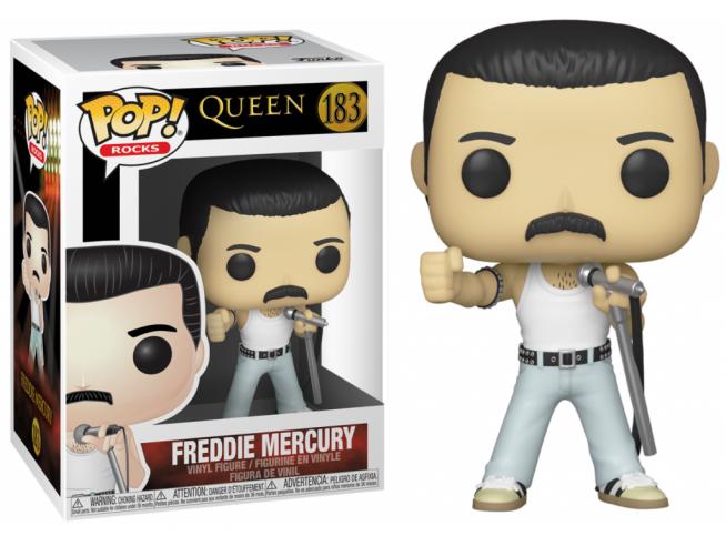 """The Queen Funko POP Musica Vinile Figura Freddie Mercury """"Radio Gaga"""" 9cm"""