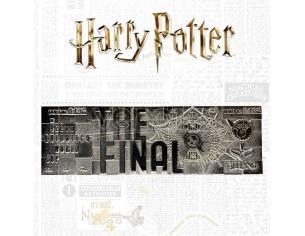 Harry Potter Replica Biglietto Coppa del Mondo di Quidditch Argento Esclusiva
