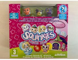 Grandi Giochi - SQUINKIES - per NINTENDO DS con 4 Rarissime Figurine