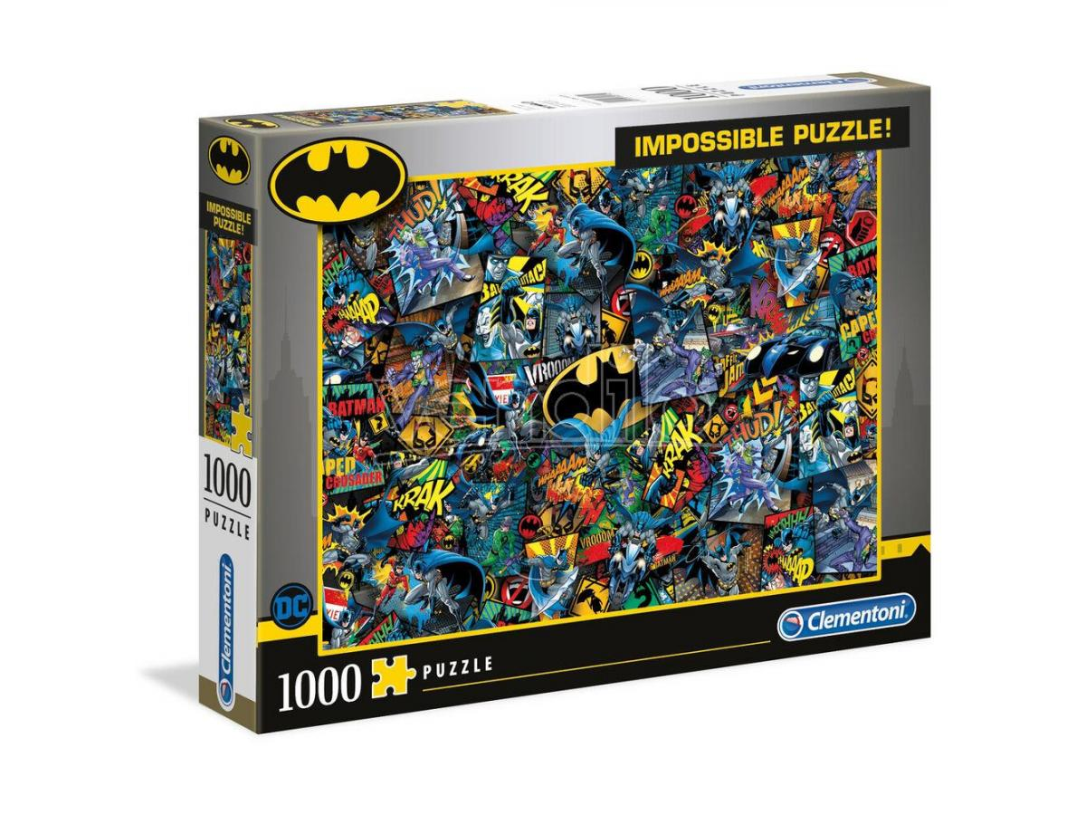 DC Comics Batman Impossible puzzle 1000pcs Clementoni