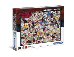 Stranger Things Badge Impossible puzzle 1000pzs Clementoni