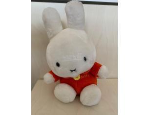 Peluche Miffy con Maglietta Rossa 20 cm