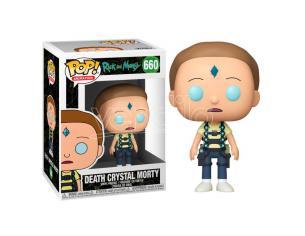 Pop Figura Rick & Morty Death Cristallo Morty Funko