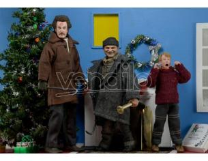 Home Alone Clothed Af Set (3) Action Figura Neca