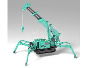 SPIDER CRANE MAEDA SEISAK GREEN MODEROID MODEL KIT GOODSMILE
