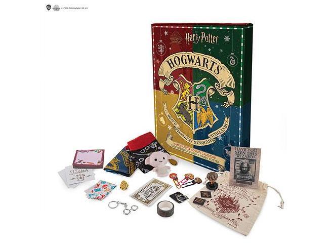 Calendario dell'Avvento 2021 Harry Potter Natale nel Mondo Magico Cinereplicas
