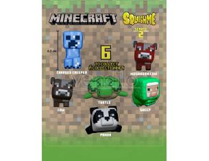 Minecraft Squishme Anti-Stress Figures 6 Cm Series 2 Display (12) Just Toys