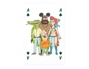 Rick E Morty Number 1 Playing Cards Display (12) *german Version* Winning Moves