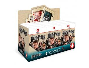 Harry Potter Number 1 Playing Cards Display (12) *German Version* Winning Moves