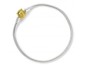 Harry Potter Slider Braccialetto Boccino D'oro 19 Cm (sterling Silver) Carat Shop, The