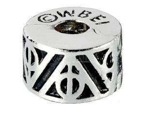 Harry Potter Ciondolo Stoppers 2-pack Doni Della Morte (silver Plated) Carat Shop, The