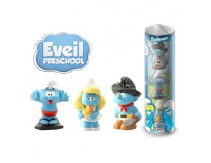 The Smurfs Mini Figura 3-pack Prescool 10 Cm Plastoy