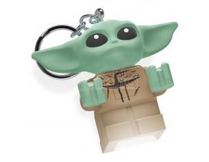 Lego Star Wars The Mandalorian Light-up Portachiavi Baby Yoda 6 Cm Joy Toy