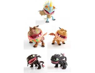How To Train Your Dragon Action Vinile Figures Dragons 15 Cm Assortment (12) The Loyal Subjects
