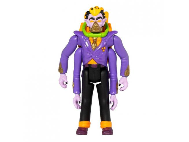 Toxic Crusaders Reaction Action Figura Wave 1 Dr. Killemoff 10 Cm Super7