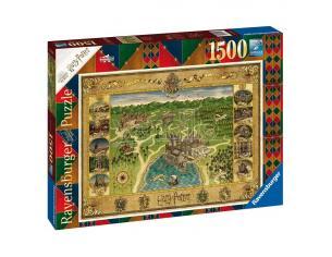 Harry Potter Jigsaw Puzzle Hogwarts Map (1500 Pieces) Ravensburger