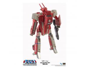 Macross Retro Transformable Collection Action Figura 1/100 Vf-1j Milia Valkyrie 13 Cm Toynami