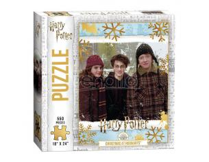 Harry Potter Jigsaw Puzzle Natale At Hogwarts (550 Pieces) Usaopoly