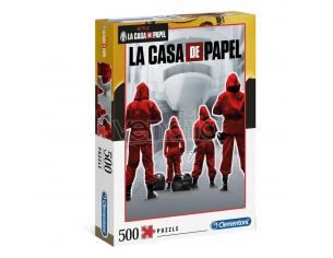 Money Heist Jigsaw Puzzle Overall (500 Pieces) Clementoni