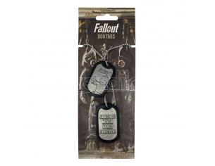 Fallout Dog Tags Con Ball Chain Logo Fanattik
