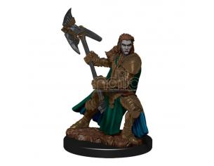 D&d Icons Of The Realms Premium Miniature Pre-painted Half-orc Fighter Female Case (6) Wizbambino