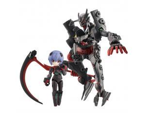 Evangelion Desktop Army Figures 8 Cm Ayanami Rei & Adams Unit-01 8 - 15 Cm Megahouse