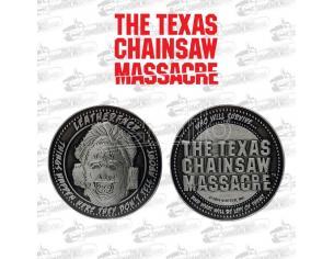 Texas Chainsaw Massacre Collectable Coin Leatherface Edizione Limitata Fanattik