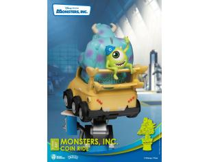 Disney Coin Ride Series D-Stage PVC Diorama Monsters Inc. 16 Cm Beast Kingdom Toys