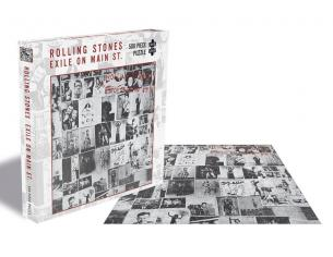 The Rolling Stones Rock Saws Jigsaw Puzzle  Exile On Main St. (500 Pieces) PHD Merchandise